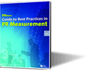 Guide to Best Practices in PR Measurement
